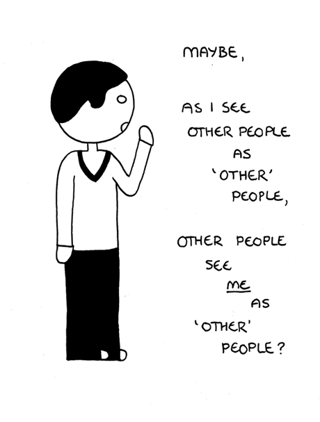 'other' people.
